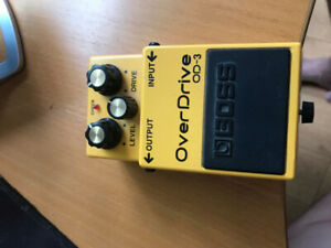 boss OD-3 overdrive pedal (price dropped)