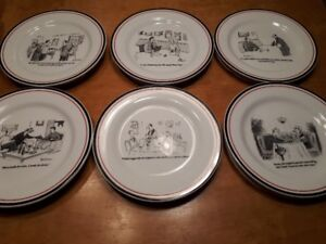 Collectable New Yorker Cheese Plates