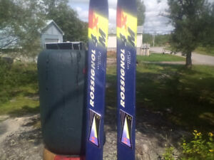 2 sets of rossignol 184s and one set of 150s  your choice