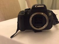 CANON EOS 650D / REBEL T4i 18.0 MP DIGITAL SLR CAMERA - BLACK (BODY ONLY) BOXED