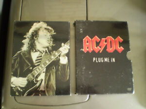 2 dvd live ac/dc plug me in (show) live <<