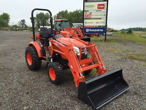 Kioti CK2510H with front end loader