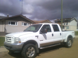 2003 f350 runs like new but no body left