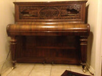 Antique Collard and Collard Upright Piano