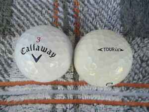 Clean Used Golfballs