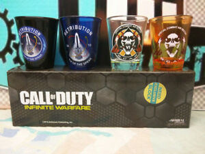 Call of Duty Shot Glasses - 2 Boxes
