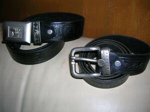 5434e86e2687 Versace Leather Belt Made in Italy Various Mens