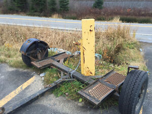 Heavily built tow dolly from BC !!
