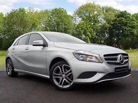 Mercedes-Benz A CLASS 1.5 A180 CDI Sport 5dr (silver) 2015