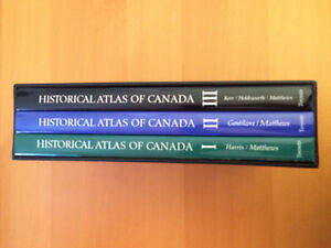 Historical Atlas of Canada 4 Volume Hardcover Set Kingston Kingston Area image 6