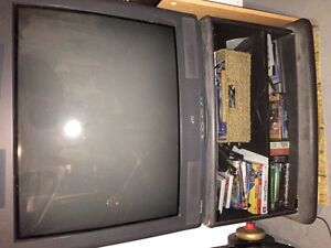 JVC 32 inch TV with matching stand
