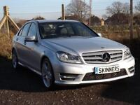 Mercedes-Benz C Class C220 Cdi Blueefficiency Amg Sport DIESEL AUTOMATIC 2013/63