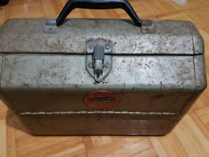 Vintage Simonsen Metal Tackle box