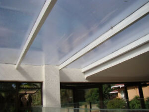 Patio Roof Cover Material – Polycarbonate twinwall