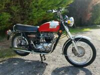 *SOLD* TRIUMPH BONNEVILLE T140V T140E REQUIRED WITH MATCHING NUMBERS