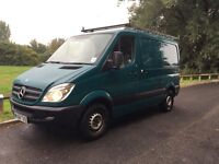 L@@K MERCEDES SPRINTER 311 2.1 CDI SWB 2008**MOT*TWIN SIDE DOORS*FULL SURVICE*1 COMPANY OWNER