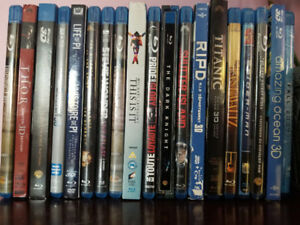 Various Blu-Rays lightly used, smoke free home see Ad for prices
