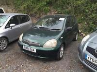 Toyota Yaris 1.3 16v VVTi 1999MY CDX