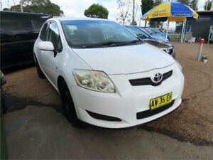 2008 Toyota Corolla ZRE152R Ascent 4 Speed Automatic Hatchback Mount Druitt Blacktown Area Preview