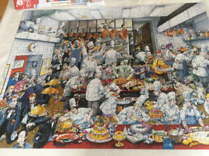 Challenging 1500 pc.  puzzle by Heye, Bon Appetit