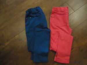 2 pairs Girls Jeggings - New condition