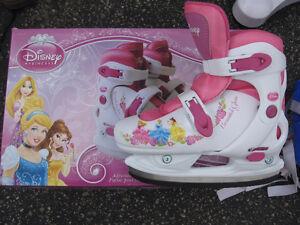 Patins à glace Princesse Disney - ajustable taille 12-2