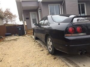 Nissan skyline r33 gts non turbo