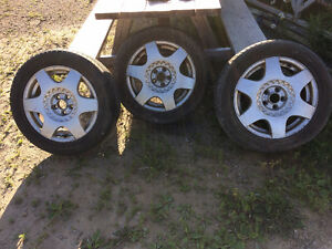 205/55R16 TIRES AND RIMS