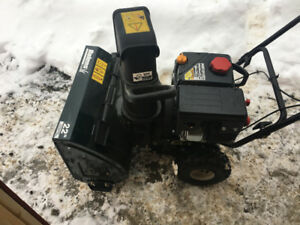 Bolens 22 inch 2 stage snowblower Used once