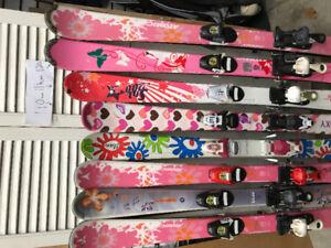 Skis fille 90/100-110-120-130cm