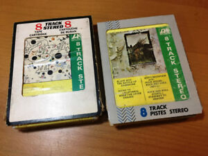 Psych TWO Led Zeppelin 8 TRACK TAPES LZ III, LZ IV