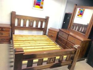 Quality timber kingsize/Queensize beds Athol Park Charles Sturt Area Preview