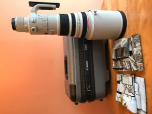 Canon 500mm f4 IS Lens with extras!