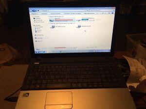 Acer 250 gig 4 gig ram laptop