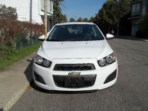 Chevrolet Sonic LT 4-door Automatic - Low mileage