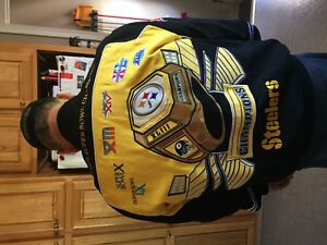 Pittsburgh steelers 6 time champion coat