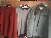 Mens next sweaters x2 as new little used £5 each