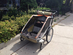 Chariot Cougar 2 - stroller for two kids