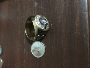 14k Solid Gold Grad Ring