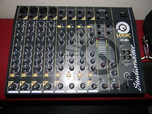 Studiomaster Logic 12 Compact Mixer with case