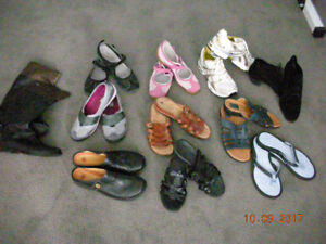 Assorted Women's size 11 shoes