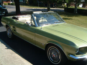 1967 Mustang Covertible For Sale