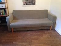 Canapé-lit design, parfait état, Parc Lafontaine
