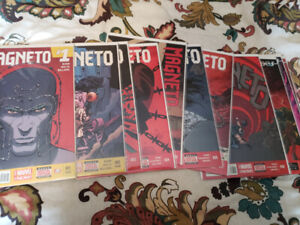Selling Marvel Comics Magneto series and Axis Crossover Story
