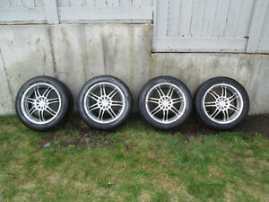 core racing rims with winter tires