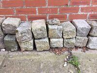 Granite blocks 50-75 of them