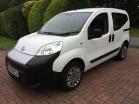 Fiat Qubo 1.4 Active White Estate MPV 2010 Low Miles 36k FSH Long Mot Bluetooth