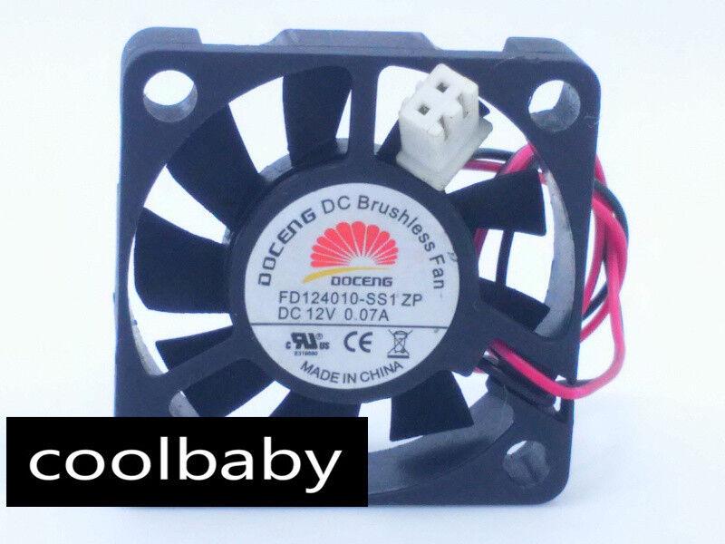 Delta KDB04112HB Fan 12V 0.07A 6CM 3Pin M2097 QL kc2