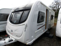 Swift Challenger 565 SR 2012 4 Berth Touring Caravan Fixed Twin Beds