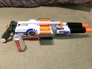 Nerf Rhinofire machine gun